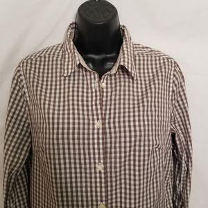 Barbour check button shirt